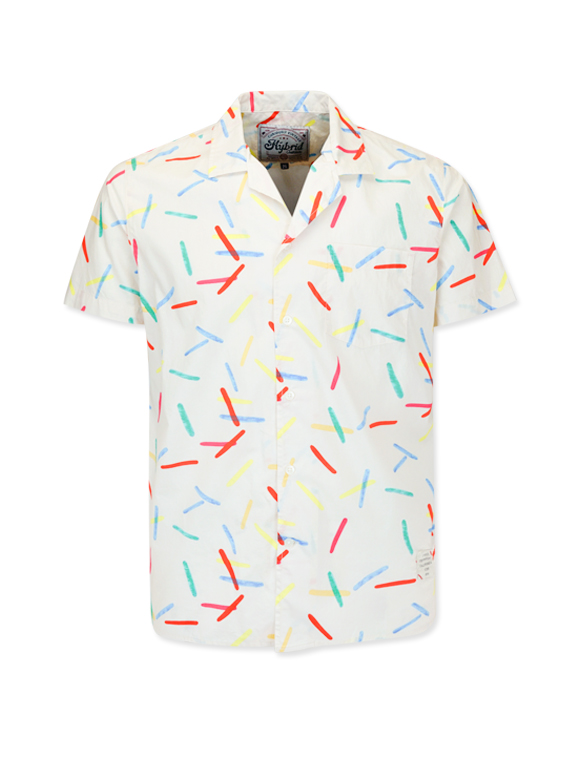 Men's Casual Style Print Shirt