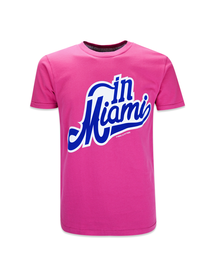 Men's in Miami Vintage Screen T-Shirt