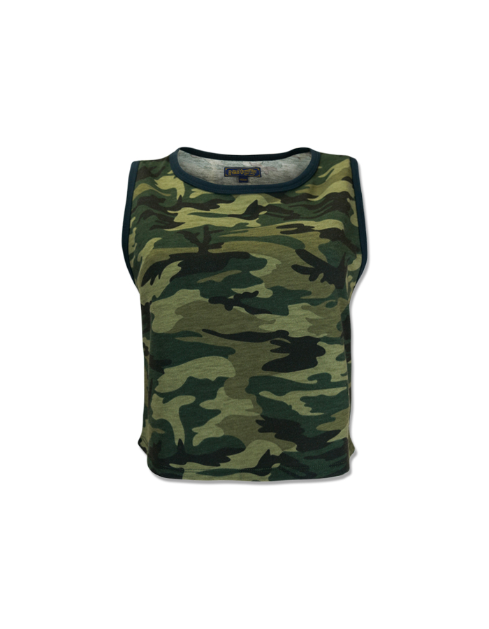 Women's Sporty Camouflage Hoodie Top
