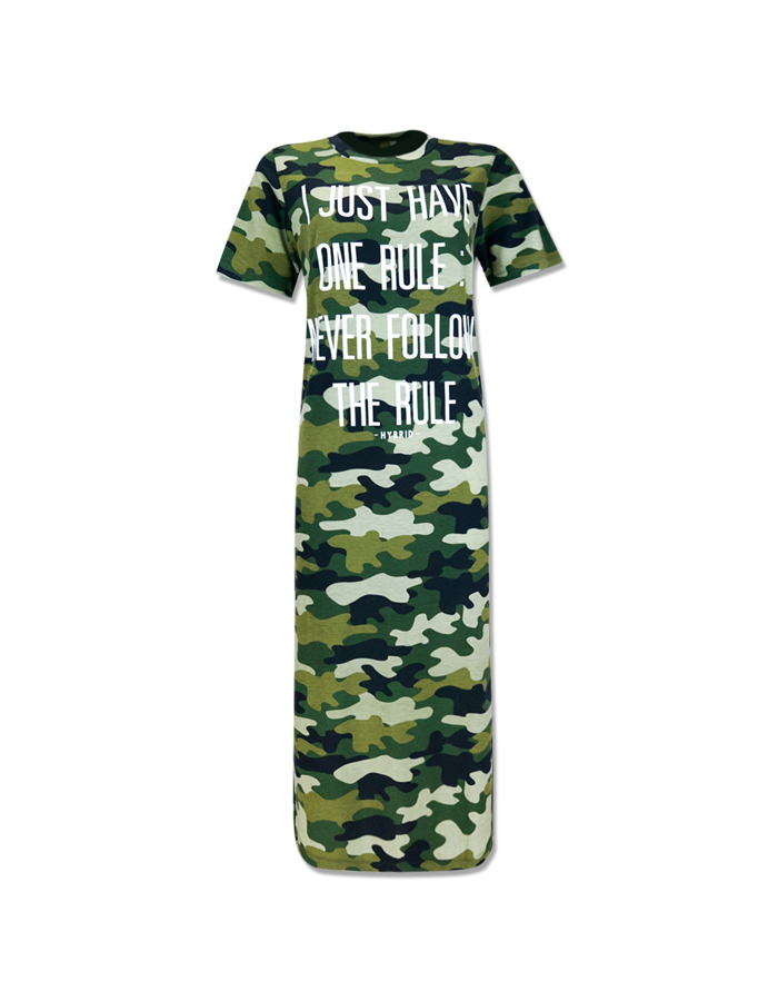 Women's Camouflage Maxi Dress