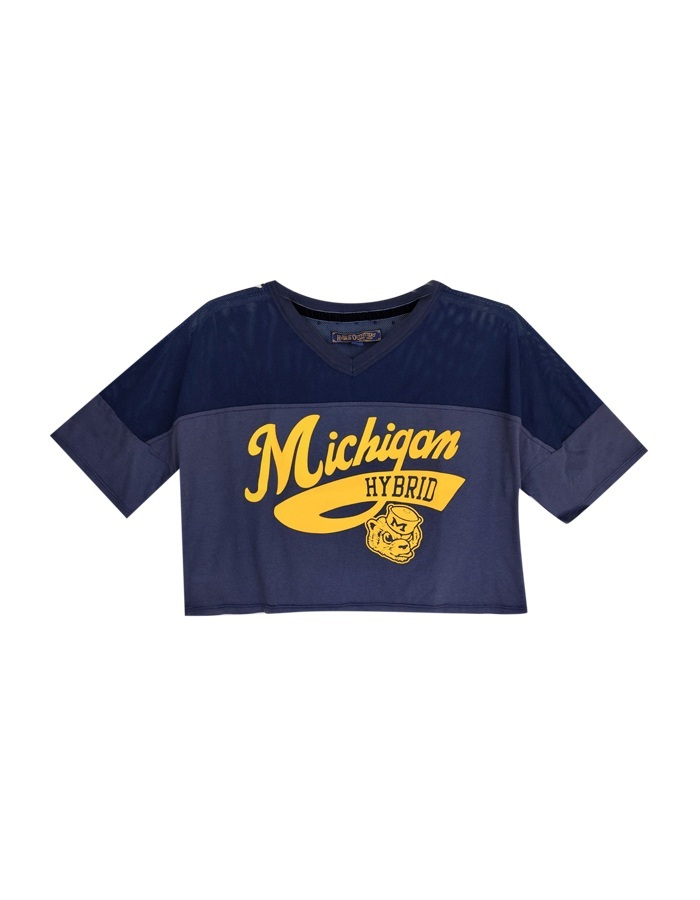 Women's Michigan Sporty Crop Top
