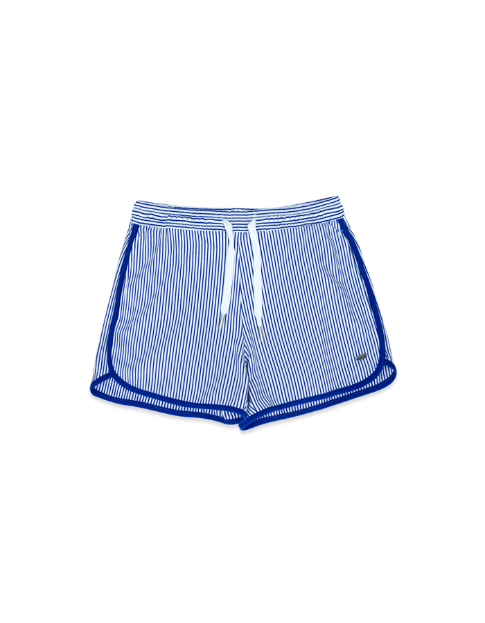 Women's Striped Short Pants