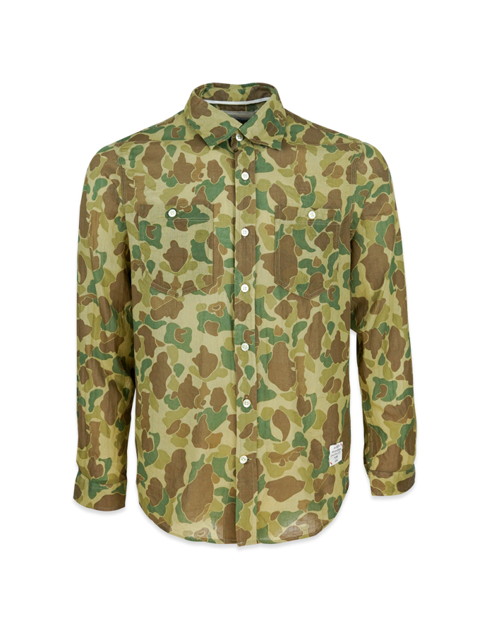 Men's Camouflage Long Sleeve Shirt