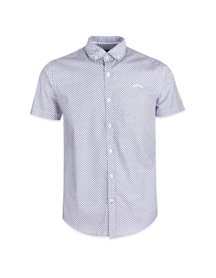 Men's Print Short Sleeve Shirt