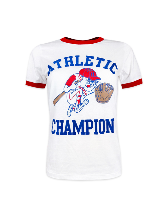 Women's Athletic Bulldog Vintage T-shirt