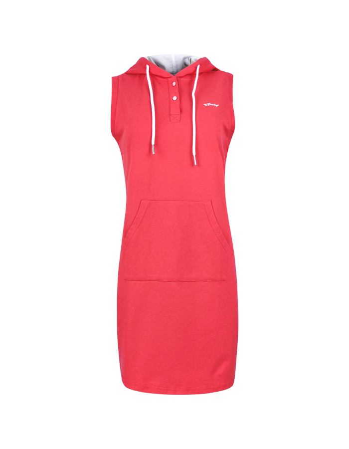 Women's Hoodie Sleeveless Dress