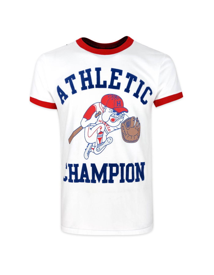 Men Athletic Bulldog Vintage T-Shirt